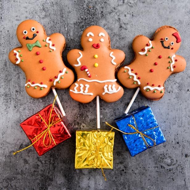 Gingerbread macaron (1)