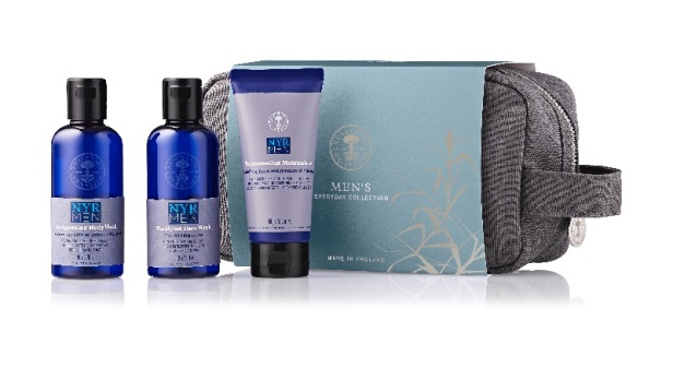 Men's Wash Bag Set with products