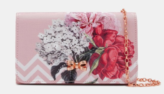 SOPHH Palace Gardens Bow Evening Bag_Dusky Pink_S$159