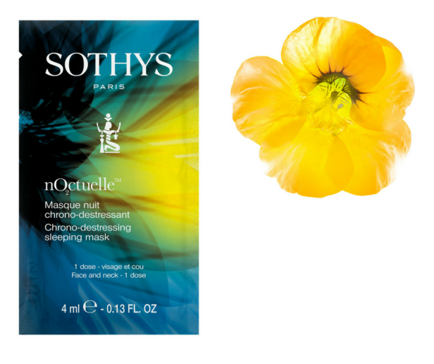 SOTHYS nO₂ctuelle™ Chrono-Destressing Sleeping Mask 4ml x 8 – SGD$99