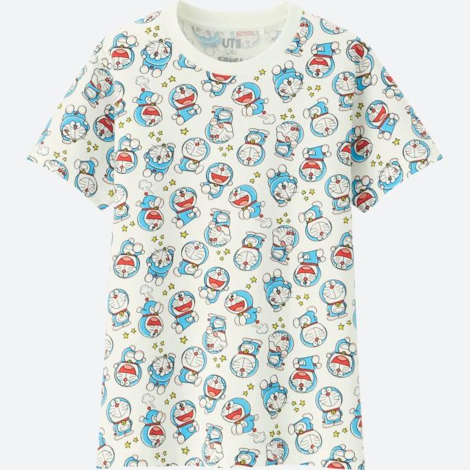 DORAEMON graphic short sleeve T-shirt_$14.90