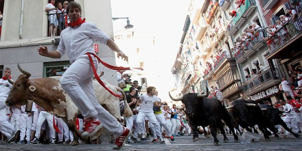 run with the bulls