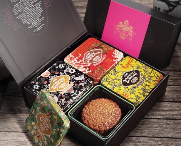Old Seng Choong Baked Mooncake - 2018 Tin Boxes
