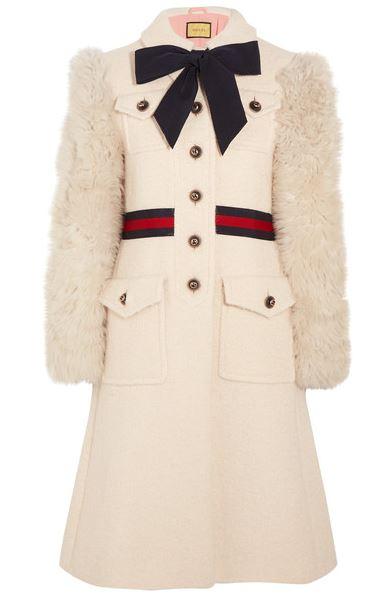 Gucci faux fur